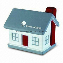 Hot Sale PU Stress Reliever House Style Toy