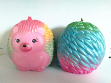 Customized Squishies PU Hedgehog Super Soft Squishy Slow Rising Toys