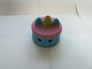 Wholesale Squishies Sea Unicorn Cake PU Squishy Slow Rising Toy