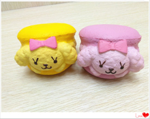 Squishies Dog Hamburger PU Squishy Slow Rising Scented Toy