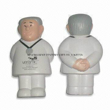 PU Foam Stress Squeeze Toy Doctor Man Design