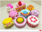 Wholesale Assorted Cakes Squishys PU Foam Scented Squishy Slow Rising Toys Random