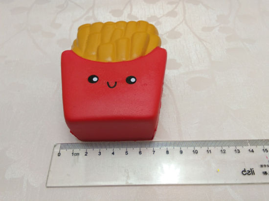 Scented Chips Fries PU Soft Squishies Slow Rising Cool Squishy Toys