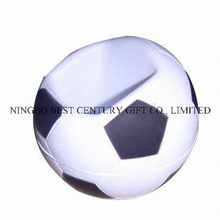 PU Foam Soccer Ball Mobile Phone Holder Gift Stress Ball Toy