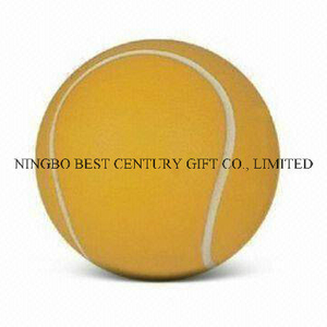 PU Anti Stress Ball Tennis Ball Design Toy