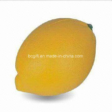 PU Foam Stress Squishy Toy Lemon Shape