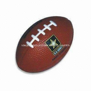 PU Anti Stress Ball American Football Rugby Style
