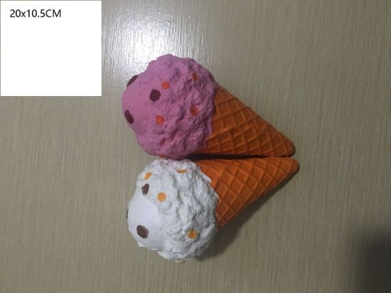 Wholesale PU Squishy Ice-Cream Large Slow Rising Toy Squishies