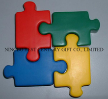 PU Puzzle Pieces Shape Stress Reliever Toy