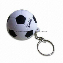 PU Stress Soccer Ball Football Keychain Promotional Item Gift Toy