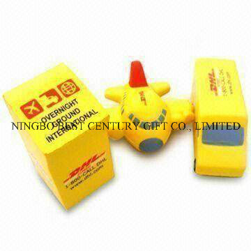 Post Box, Truck and Airplane Shape PU Foam Stress Balls