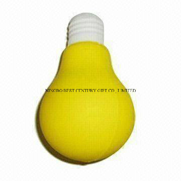 Wholesale PU Stress Reliever Bulb Design Toy
