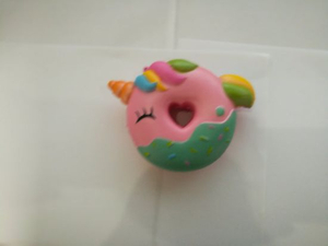 Wholesale Squishies Pink Donut Unicorn PU Squishy Slow Rising Toy
