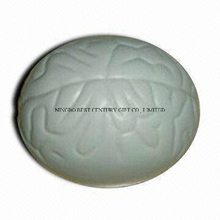 PU Foam Stress Brain Gray Promotional Stress Ball