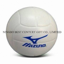 PU Foam Stress Ball Volleyball Shape Toy