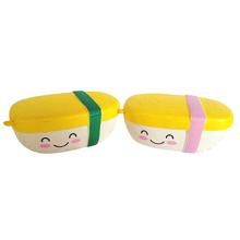 Custom Squishies Tamagoyaki Foods PU Foam Slow Rising Squishy Toys