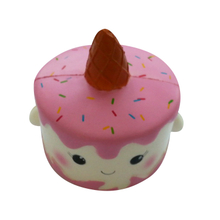 Wholesale Squishies White Unicorn Cake PU Squishy Slow Rising Toy