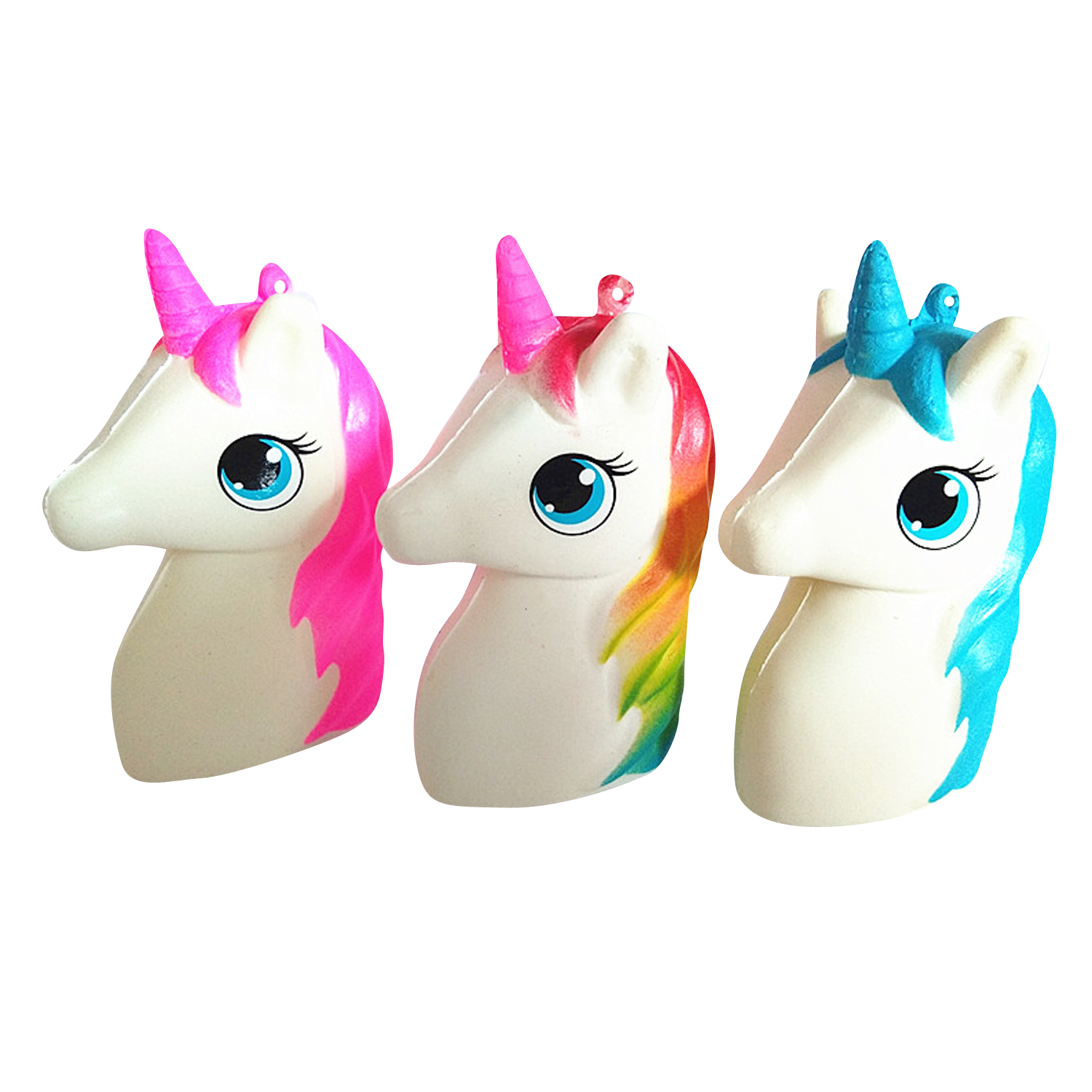 Wholesale Horse Head Squishy Toy PU Slow Rising Scented Toy