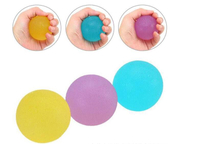 Popular Eco-Friendly TPR Hand Grip Ball Wrist Exerciser Massage Ball Soft Squeeze Stress Reliever Kids Children Toys