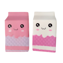 Custom Squishies Milk Boxes Cartons PU Slow Rising Squishy Toys